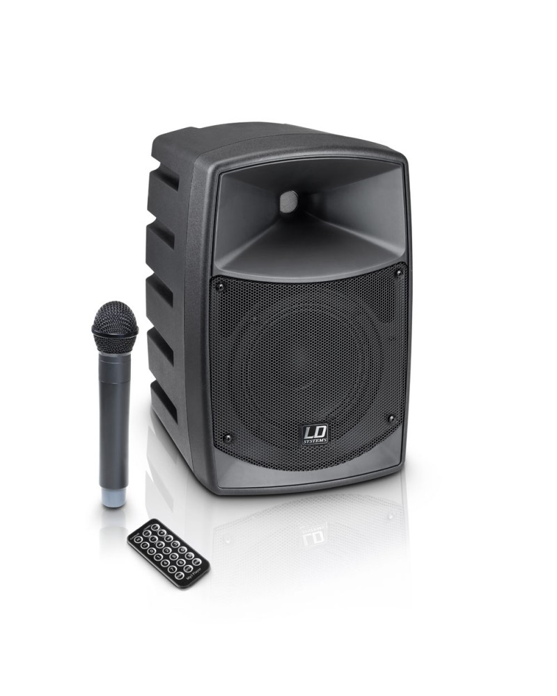 leadder 45w rechargeable portable trolley speaker