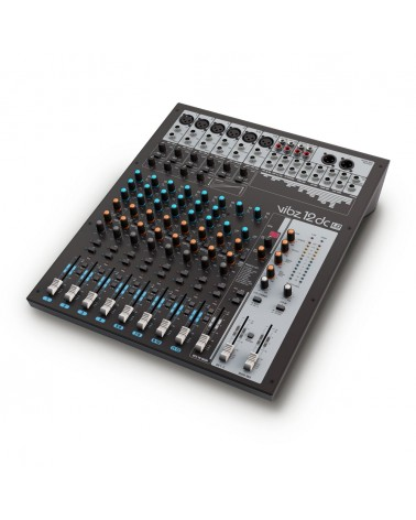 LD Systems VIBZ 12 DC - 12 channel Mixing Console with DFX and Compressor