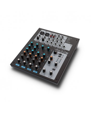 LD Systems VIBZ 6 D - 6 channel Mixing Console with DFX
