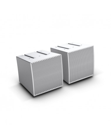 LD Systems CURV 500 S2 W - Two Array satellites for the CURV 500 Portable Array System, white